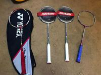 Yonex ashaway li-Ning badminton racket sell or swap for another racket