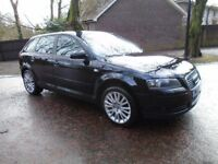 2007 AUDI A3 TDI SE 5 DOOR HALF LEATHER DIESEL 6 SPEED