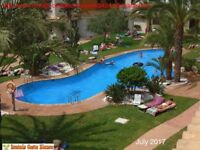 COSTA BLANCA, Spain. 2 bedroom apartment, sea & pool views, sleeps 4, easy walk to beach/sea (SM040)