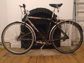 Scott commuter single speed bicycle - perfect for student / commute.