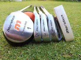 Meridian Junior Golf Clubs Starter Set