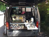 WANTED: 2 baristas for small vintage coffee and tea van in Quedam shopping centre, Yeovil