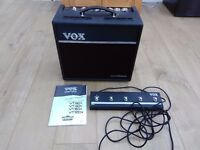 Vox VT40+ Combo Amp + Footswitch *reduced*