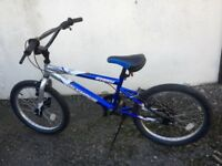BMX Bike. Suit 7 to 10 year old.