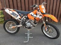 Ktm 525 Exc 4 stroke (Road registered 52 reg) Enduro bike not 125 250 450 trail trials motocross