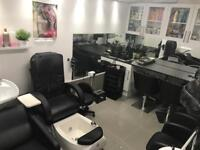 Afro Caribbean hairdresser and nail technician