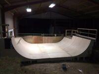 Mini ramp, Skate ramp, Halfpipe