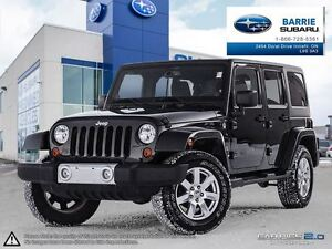 2013 Jeep WRANGLER UNLIMITED Sahara 4D Utility 4WD 6spd *Manual*