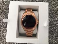 Michael Kors Rose Gold Smartwatch - BRAND NEW