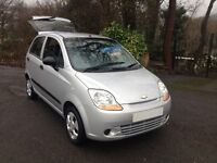 2010 CHEVROLET MATIZ S FIVE DR/ONE OWNER/HI SPEC/LOW INSURANCE/BRAND NEW CAMBELT/LIKE FIESTA/CLIO