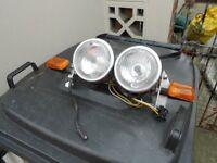 Head lights& indicators