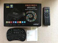 Droibox MXQ Smart Android TV box + Rii qwerty remote