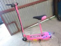 NEON ROCKET ELECTRIC SCOOTER (MINT CONDITION)