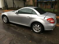 Mercedes slk 200 kompressor 2005 low mileage