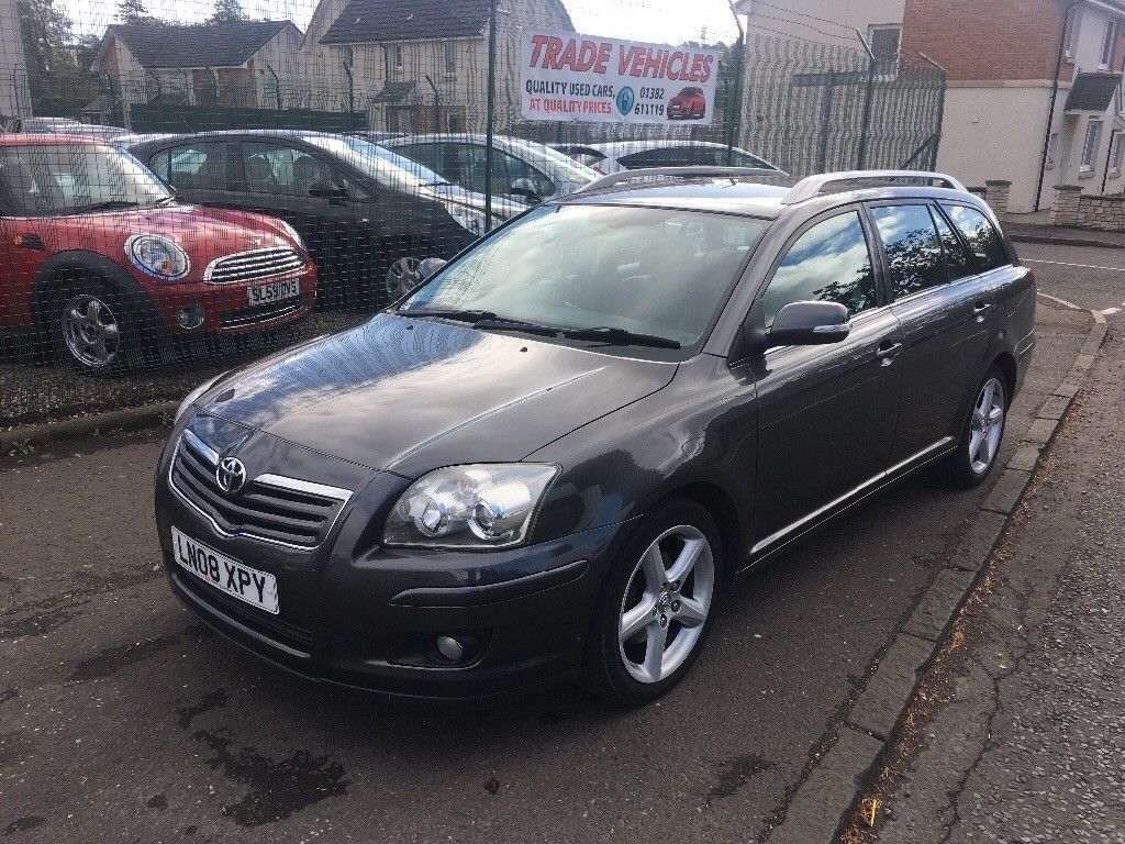 2008 TOYOTA AVENSIS 2.2 T-sprit D-4D 6 speed,estate 78k