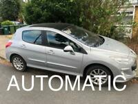 PEUGEOT 308 1.6 AUTOMATIC HPI CLEAR 2008 5 DOOR VERY CHEAP