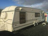 Roma supreme fixed bed 2001 touring caravan