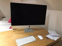 "iMac 27 "" Inch Late 2012 1TB HDD 8GB RAM (Excellent Condition) [Cost £1600 new]"