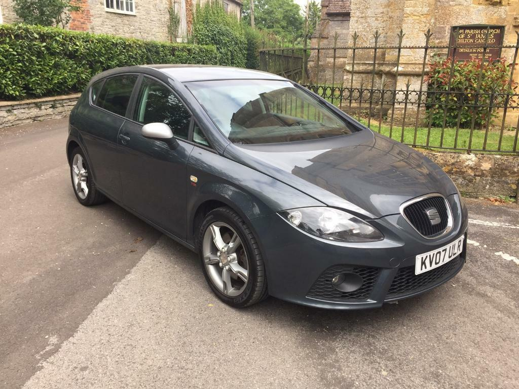 2007 seat leon fr tdi 170 in yeovil somerset gumtree. Black Bedroom Furniture Sets. Home Design Ideas