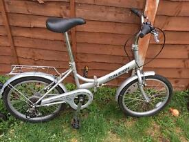 Raleigh Eclipse 6 speed foldable bike