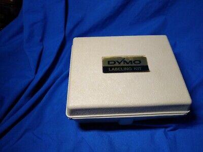 Dymo Label Maker - -6 - Original Hard Case - Vintage 1970