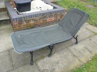 Wychwood folding fishing chair bed