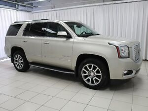 2016 GMC Yukon DENALI 4X4 SUV 7PASS WITH HEATED AND COOLED SEATS