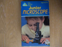 ELC junior Microscope Ages 6+, Includes slide, infomation leaflet & boxed