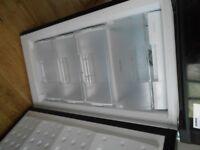 beko black fridge freezer free to collect