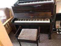 W.H.Barnes, upright piano For sale