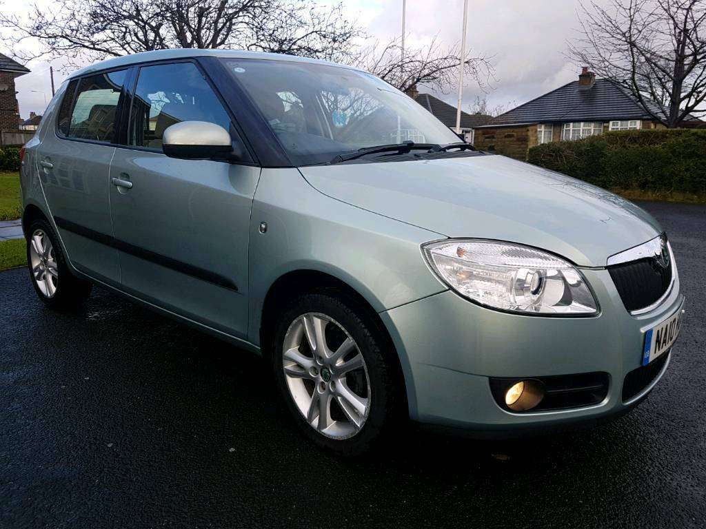 2010 10 REG SKODA FABIA 1.6 16V 3 TIPTRONIC / AUTOMATIC, 5 DOORS HATCHBACK, LOW 27K MILES, HPI CLEAR