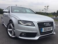 2011 AUDI A4 1.8 T FSI S LINE WITH FULL AUDI HISTORY