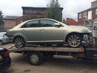 BREAKING 2004 TOYOTA AVENSIS 1.8 T3-S - BREAKING FOR SPARES / PARTS, ALL PARTS AVAILABLE