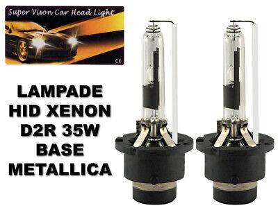 Coppia lampade di Ricambio kit Xenon Xeno Fari bulbi auto D2R 35W 4300K