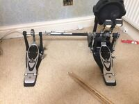 Pearl Power Shifter Eliminator Double Bass Pedal (Little Used)