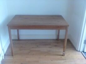 Large Pine Table - can be used as kitchen table. Free on collection in Fulham