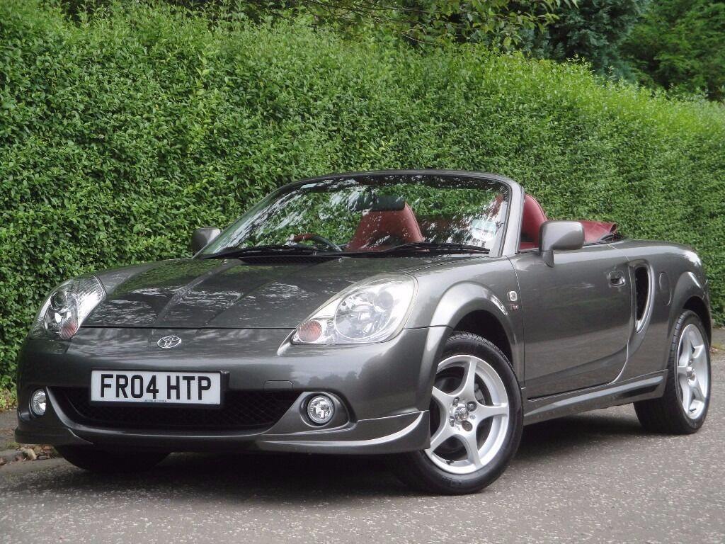2004 toyota mr2 roadster 39 red 39 special edition only. Black Bedroom Furniture Sets. Home Design Ideas
