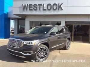 2017 GMC Acadia Denali Second Row Heated Seats