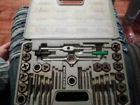 tap and die set brand new
