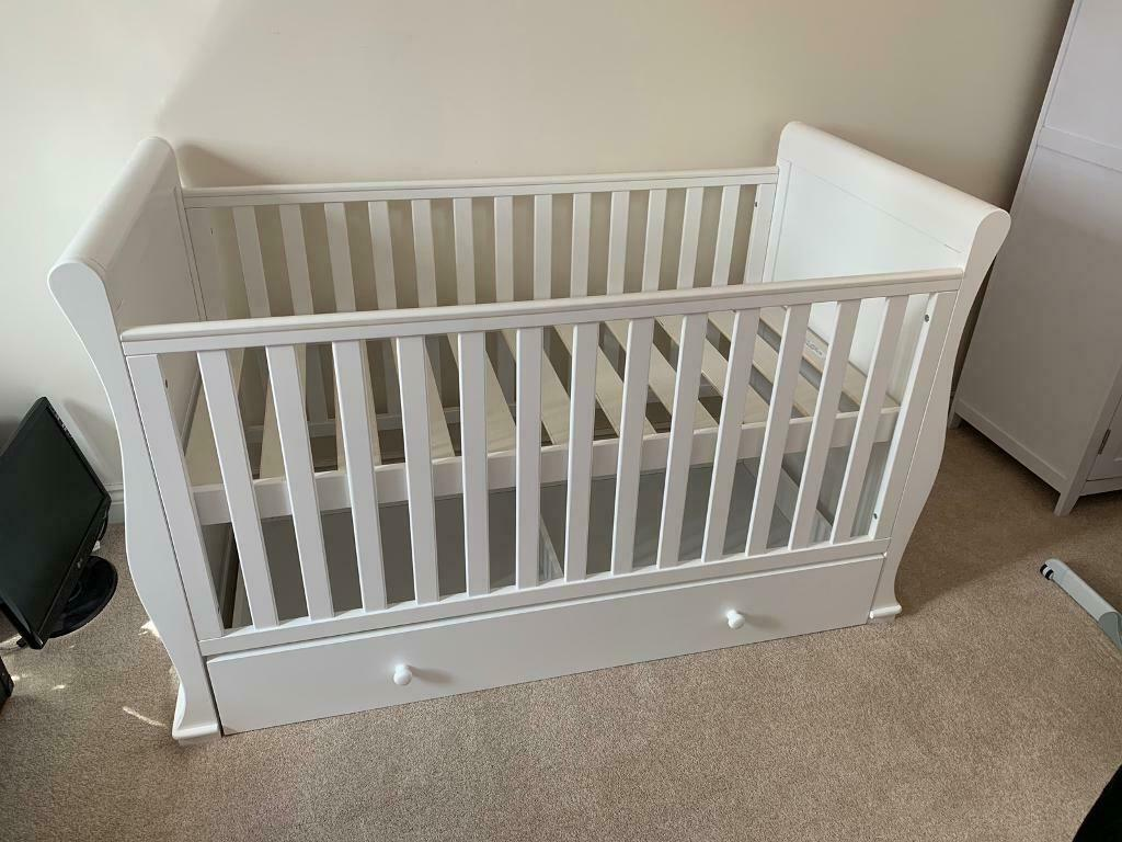 timeless design 72a81 28589 Sleigh Brianne cot bed from Wayfair | in Northampton, Northamptonshire |  Gumtree
