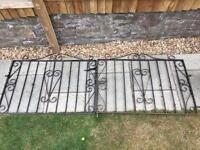 Wrought Iron Gate (double gate)