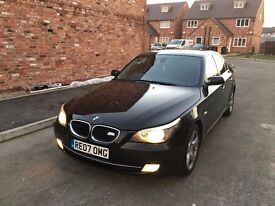 2007 BMW 5 SERIES 520D SE FULL 12 MONTHS MOT 119K MINT CONDITION ANY TRIAL