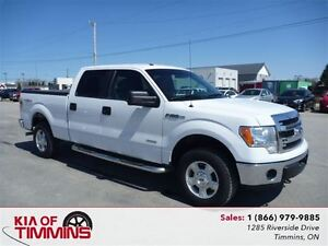 2014 Ford F-150 XLT Supercrew 4X4 Tonneau Cover Side steps