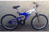 "Bike/Bicycle.BOYS MAGNA "" ARCTIC TRAIL "" MOUNTAIN BIKE.SUIT 9-12 YEARS"