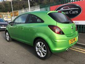 2012 (61 reg) Vauxhall Corsa 1.4 i 16v SXi 3dr Hatchback Automatic Petrol