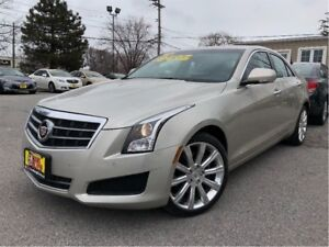 2014 Cadillac ATS 2.0L Turbo Luxury AWD LEATHER NAV SUNROOF