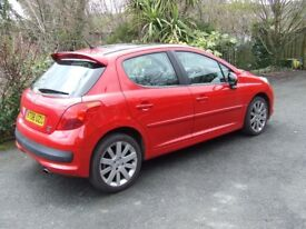 Sold sold sold Peugeot 207 1.6 Hdi GT in Red 2008 (08)