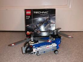 Lego technic helicopter (42020)