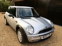 MINI ONE, Excellent Condition, Low Mileage, 1Yr MOT, Full Service History, Recently Serviced, 2 Keys