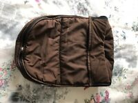 Bugaboo cosy toes footmuff brown